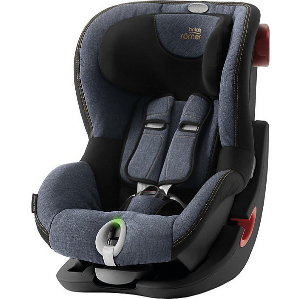 Автокресло Britax Romer King II LS Black Series 9-18 кг Blue Marble