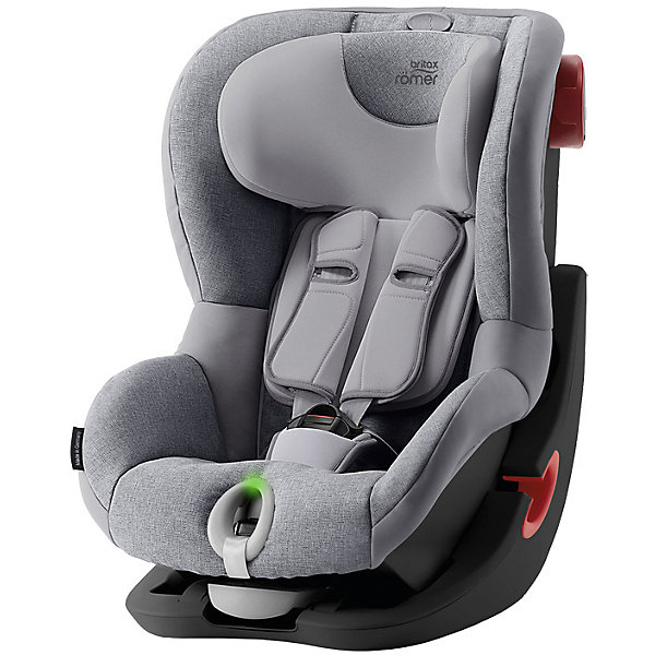 Автокресло Britax Romer King II LS Black Series 9-18 кг Grey Marble