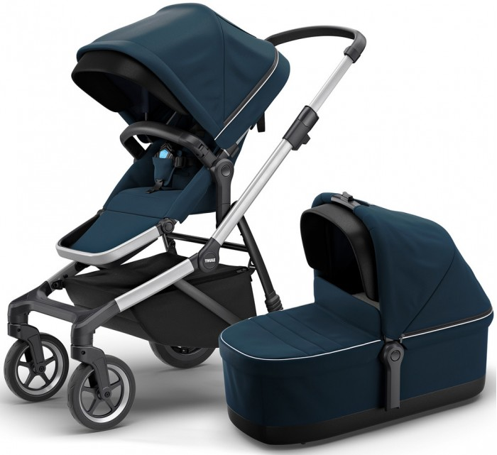Коляска Thule Thule Sleek + bassinet 2 в 1
